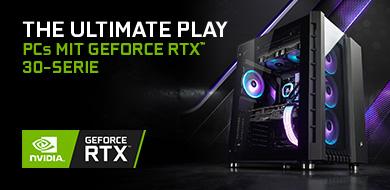 NVIDIA® GeForce RTX™ 30er-Serie