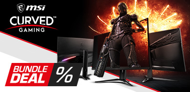 MSI Optix Curved Gaming Monitore