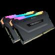 Corsair Vengeance RGB Pro 16GB Kit, DDR4-3200 MHz (2x8GB), schwarz