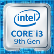 Intel Core i3-9100F, 4x3.6 GHz Quadcore (Coffee Lake)