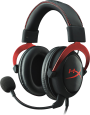 Kingston HyperX Cloud II, Gaming Headset, Schwarz/Rot