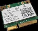 Intel Centrino Wireless-N 105, 105HNHMW, Mini PCI Express, 150 Mbps