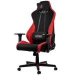 Nitro Concepts S300 Gaming Chair, Inferno Red
