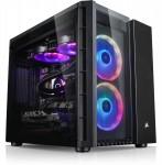 MATX Corsair Crystal 280X RGB Cube, schwarz