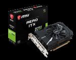 MSI GeForce GTX 1050 AERO ITX OCV1, 2GB GDDR5, 1xDVI,1xHDMI,1xDP