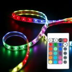 Flexlight LED Beleuchtung, 60cm Stripe + RGB Controller mit Fernbedienung