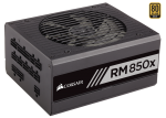 Corsair RMx Series 850W, 80+ Gold, Modular, semi-passiv