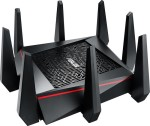 ASUS RT-AC5300, Wireless Router + 4-Port Switch 802.11 a/b/g/n/ac