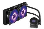 Cooler MasterLiquid ML240L RGB, Wasserkühlung (sehr leise), beleuchtet