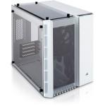 MATX Corsair Crystal 280X Cube, weiß