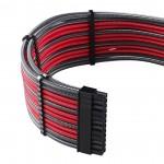 Cablemod PRO ModMesh Cable-Kit sleeved, carbon/rot