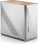 ITX-Mini Fractal Design Era, Silber, Holz Top Panel