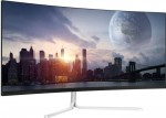 34 Zoll LC-Power M34 (86.4cm) 3440x1440, 100Hz, 4ms, curved, silber/weiss