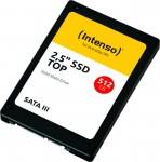 Intenso 512 GB SSD, 2.5 Zoll SATA
