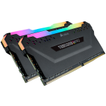 Corsair Vengeance RGB Pro 16GB Kit, DDR4-3200 MHz (2x8GB), schwarz