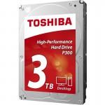 Toshiba 3000 GB, P300, 7200 U/min, SATA-600