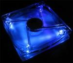 Zusatzlüfter 12cm, LED (blau)