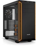 ATX-Midi bequiet! Pure Base 600 orange mit Seitenfenster (schallgedämmt)