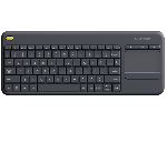 Logitech Wireless Touch K400 Plus - Tastatur - schwarz