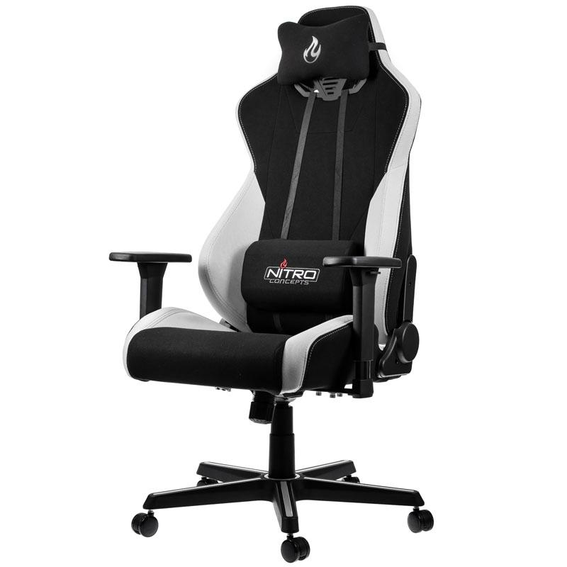 Kiebelde Nitro Concepts S300 Gaming Chair Radiant White
