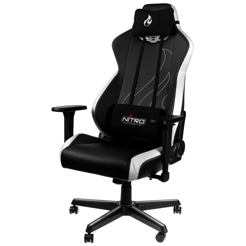 Kiebelde Nitro Concepts S300 Ex Gaming Chair Radiant White