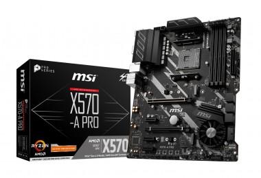 MSI X570-A PRO, AMD X570, AM4, ATX