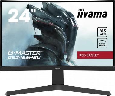 24 Zoll iiyama G-Master GB2466HSU-B1 (60cm) 1920x1080, 165Hz, 1ms