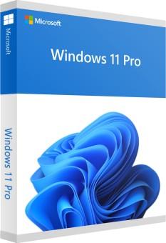 Windows 11 Pro Deutsch, 64-Bit (mit DVD)