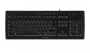 Cherry STREAM 3.0, Tastatur - USB, slim, schwarz