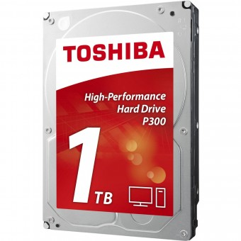 Toshiba 1000 GB, P300, 7200 U/min, SATA-600