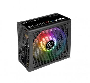 Thermaltake Smart RGB 600W, 80+, Beleuchtung