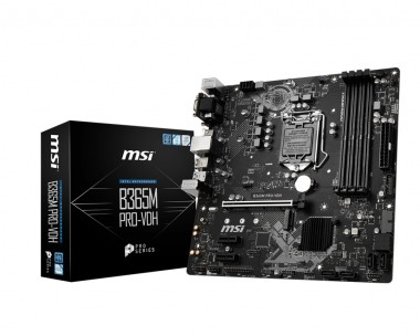 MSI B365M PRO-VDH, Sockel 1151, mATX, B365