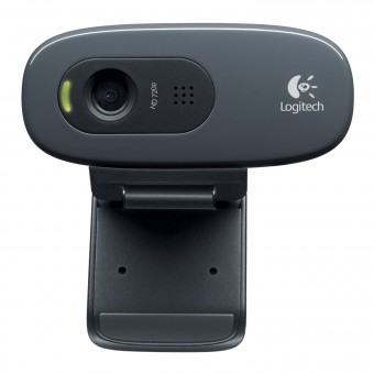 Logitech HD Webcam C270, USB
