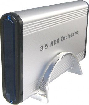 USB 2.0 SATA externes Festplattengehäuse 3,5 Zoll