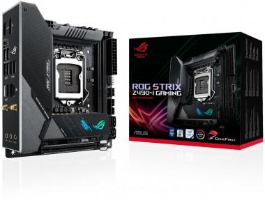 ASUS ROG Strix Z490-I GAMING, Sockel 1200, ITX, Z490