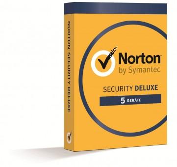 Norton Security Deluxe (V3.0), 5 Geräte, 1 Jahr Schutz