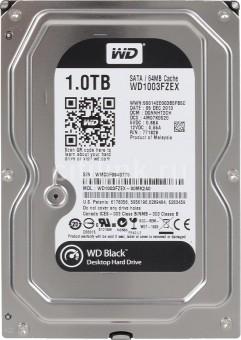 WD Black 1 TB, WD1003FZEX, 7200 U/min, SATA-600