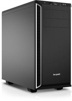 ATX-Midi bequiet! Pure Base 600 schwarz/silber (schallgedämmt)