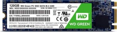WD Green - M.2 120 GB V2 (WDS120G2G0B), M.2 SATA SSD