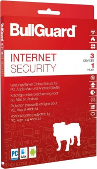 Bullguard Internet Security, 3 Geräte, 1 Jahr