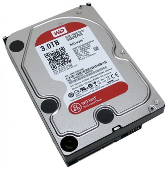 WD Red - 3 TB, WD30EFRX, 64MB Cache, SATA-600