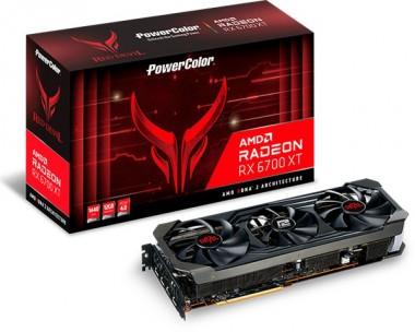 PowerColor Radeon RX 6700XT 12GB Red Devil, HDMI, DP