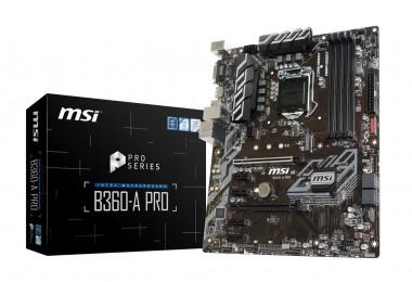 MSI B360-A PRO, Sockel 1151, ATX, B360