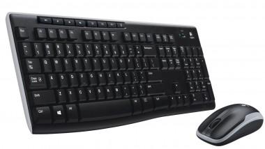 Logitech Wireless Combo MK270 Französisch - Tastatur, Maus