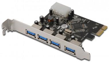 USB3.0 4-fach Erweiterung, PCIe Steckkarte