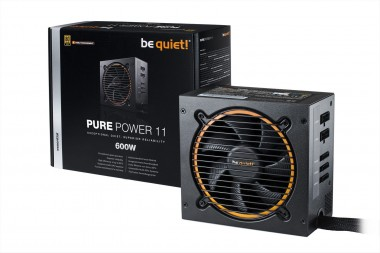 be quiet! Pure Power 11 CM 600W, 80+ Gold, Modular