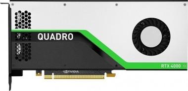 PNY Quadro RTX 4000, 8GB GDDR6, 3x DisplayPort, 1x VLink