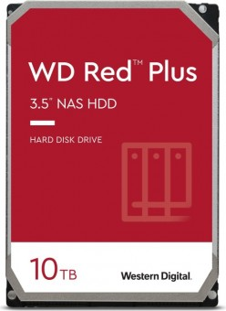 WD Red Plus 10 TB, WD101EFBX, 256MB Cache, SATA-600
