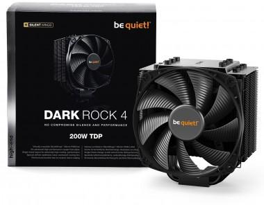 be quiet! Dark Rock 4 (supersilent, Luftkühler)