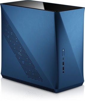 ITX-Mini Fractal Design Era, Blau, Glas Top Panel